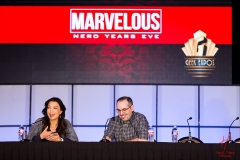 Ming-Na Wen and Craig Price in Main Hall