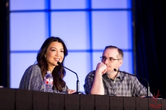 Ming-Na Wen and Craig Price