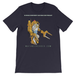 Manny T. Hero – Power Loader – T-Shirt